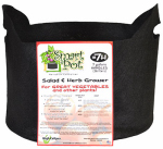 High Caliper Growing 21007RT Smart Pot Aeration Plant Container, Black, 7-Gal.
