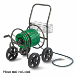 Liberty Garden Products 871-S Hose Reel Cart, Holds Up To 250 Ft. of Hose