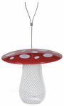 Woodstream MSB00344 Metal Mushroom Mesh Bird Feeder