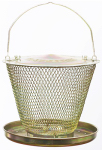 Woodstream UD00314 Brass Tray Bird Feeder