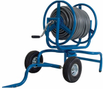 Ames Companies The 2517200 Swivel Hose Reel Cart, Holds 400-Ft.