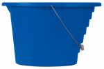 United Solutions PA0065 Pail, Graduated Markings, Blue, 15-Qt.