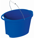 United Solutions PA0118 Oval Pail, Blue, 12-Qt.