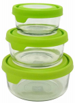 Libra 195-11623LIB Premium Food Storage Set, Glass, 6-Pc.