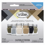 Testor 9013 6Color Flat Acry Pod Set