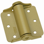National Mfg/Spectrum Brands Hhi N114-785 Spring Hinge, Brass, 3-In., 2-Pk.