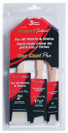 Linzer/American Brush A1143S Project Select, 3 Piece, One Coat Pro Brush Set, For All Paints & Stains