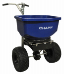 Chapin R E  Mfg Works 82108 Professional Series Salt & Ice Melt Spreader, 100-Lb. Hopper