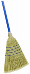 Quickie Mfg 9026 Sweep Broom, Outdoor, Poly Corn