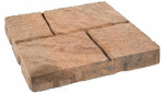 Oldcastle 10150471 16x16 Tan Cobblestone