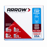 Arrow Fastener 508IP Staples, T-50, .5-In., 5,000-Pk.
