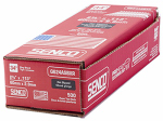 Senco Fastening Systems G624ASBXR Framing Nails, Ring Shank Hot Dipped Galvinized, Paper Tape, Prohead .113 x 2-3/8-In., 500 Count Box