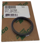 Sds Supply 007-007RP Replacement Flange Gaskets, 2-Pk.
