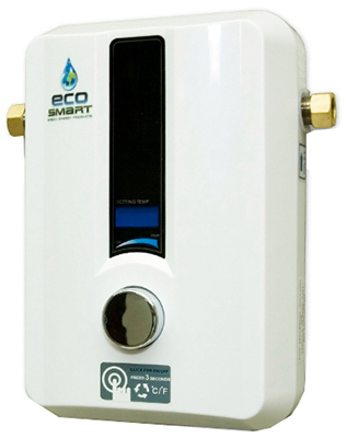 ECO 11 Tankless Water Heater, Electric, 11-kW - Quantity 1