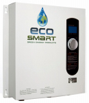Ecosmart Green Energy Prod ECO 27 Smart Technology Electric Tankless Water Heater, 27-kW