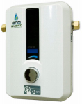 Ecosmart Green Energy Prod ECO 8 Smart Technology Electric Tankless Water Heater, 8-kW