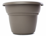 Bloem MP1215-60 Planter, Peppercorn, Plastic, 14-In.