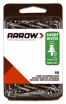 Arrow Fastener RSA3/16IP 50CT 1/8x3/16 ALU Rivet