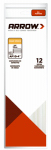 Arrow Fastener AP10-4 Glue Sticks, 10 x .5-In., 12-Ct.