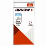 Arrow Fastener MG24-4 Glue Sticks, 4 x 5/16-In., 24-Ct.