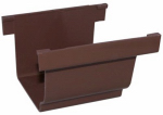 Genova Products AB105K Gutter Connector, Brown