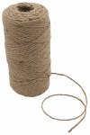 Bond Manufacturing SMG12107W Jute Twine, 250-Ft.