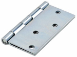 National Mfg/Spectrum Brands Hhi N830-195 Door Hinge, Square-Edge, Interior, Zinc, 4-In.
