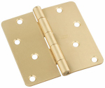 National Mfg/Spectrum Brands Hhi N830-228 Door Hinge, Interior, Satin Brass, 4-In.