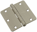 National Mfg/Spectrum Brands Hhi N830-245 Door Hinge, Interior, Satin Nickel, 3.5-In.