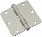 "National Mfg N830-272 3-1/2"" Stainless Steel Door Hinge"