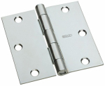 "National Mfg N830-196 3"" ZN Door Hinge"