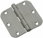 "National Mfg N830-235 3"" Satin Chrome Door Hinge"