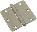 National Mfg/Spectrum Brands Hhi N830-247 Door Hinge, Interior, Satin Nickel, 3-In.