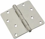 National Mfg/Spectrum Brands Hhi N830-273 Door Hinge, Interior, Stainless Steel, 4-In.