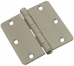 National Mfg/Spectrum Brands Hhi N830-327 Door Hinge, Interior, Satin Nickel, 3.5-In.