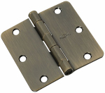 National Mfg/Spectrum Brands Hhi N830-330 Door Hinge, Interior, Antique Brass, 3.5-In.