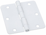 National Mfg/Spectrum Brands Hhi N830-336 Door Hinge, Interior, White, 3.5-In.