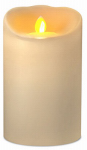 Sterno Home IGFT88205CR00 LED Flameless Candle, Cream, 3 x 5-In.