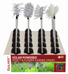 Alpine QLP268ABB-12 Solar Insect & Plastic Flower Garden Stake With Motion