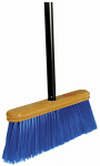 Cequent Consumer Products 11202A Upright Push Broom, Stiff Bristles, 12-In.