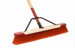 Cequent Consumer Products 557924A Push Broom, Heavy Debris, 24-In.