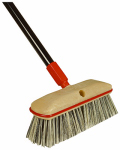 Cequent Consumer Products 687310A Wash Brush With 54-In. Handle, 10-In. Block