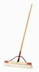 Cequent Consumer Products 2224A Push Broom, Fine Debris, Smooth to Semi-Smooth Surface, 24-In.