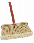 Cequent Consumer Products 10516A-1 Upright Broom, Synthetic Bristles, 9-In.