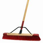 "Cequent Consumer Products 553124A 24"" Medium Debr Push Broom"