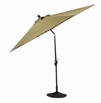 Patio Master AZB00205K31 Bellevue Patio Collection Market Umbrella, Espresso, 9-Ft.