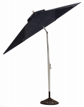 Patio Master AZB00205K30 Hampton Patio Collection Market Umbrella, Navy, 9-Ft.