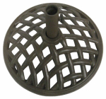 Patio Master BZB01004K13 Bellevue Patio Collection Umbrella Base, Espresso Cast Iron