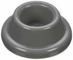 National Mfg/Spectrum Brands Hhi N215-889 Wall Door Stop, Adhesive, Gray, 3-In.