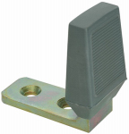 National Mfg/Spectrum Brands Hhi N215-905 Floor Door Stop, Zinc